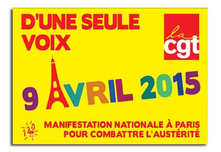 9 avril contre l'austérité