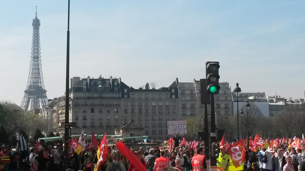 Manifestation Paris 9 Avril