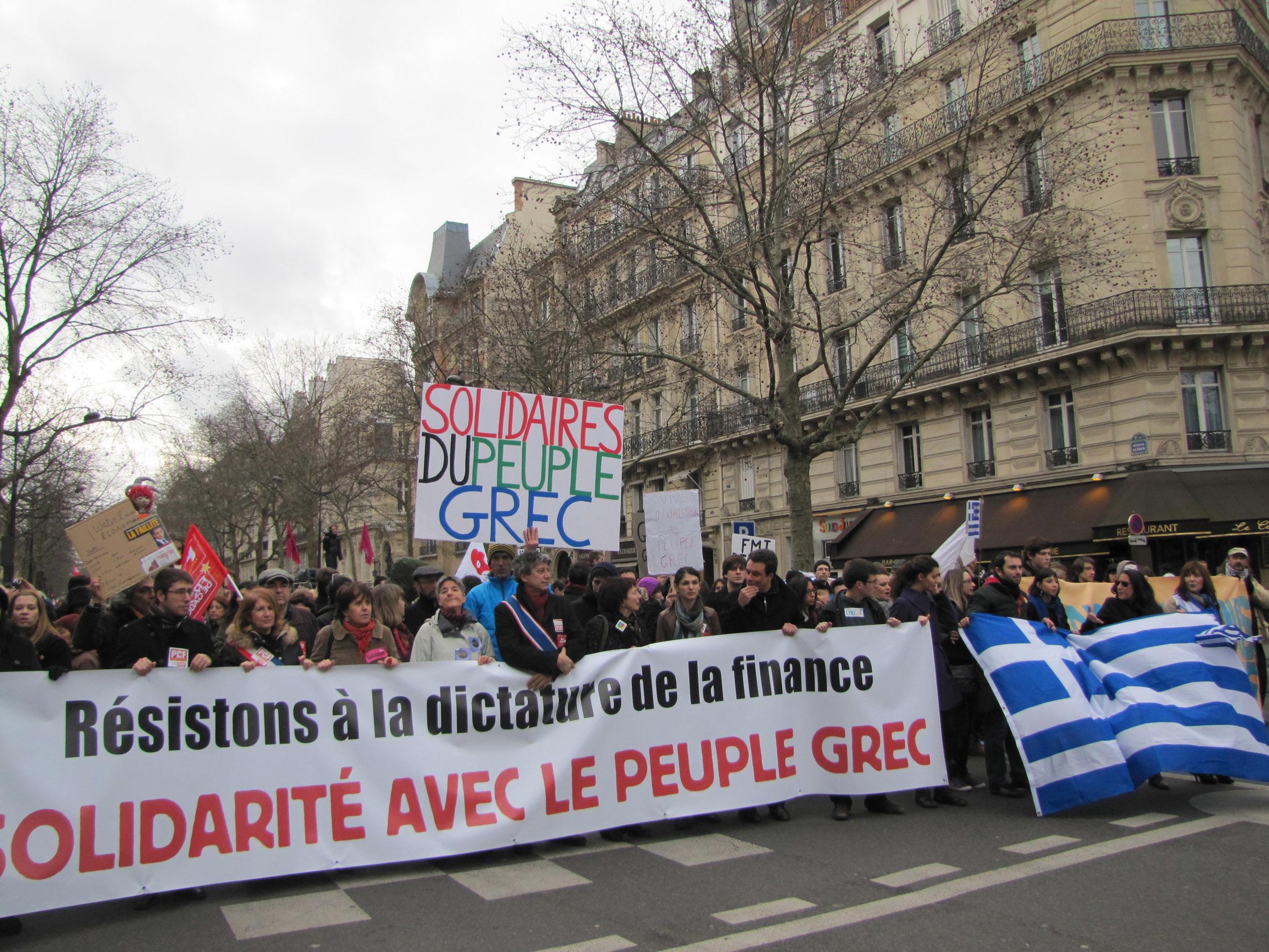 solidarité grèce