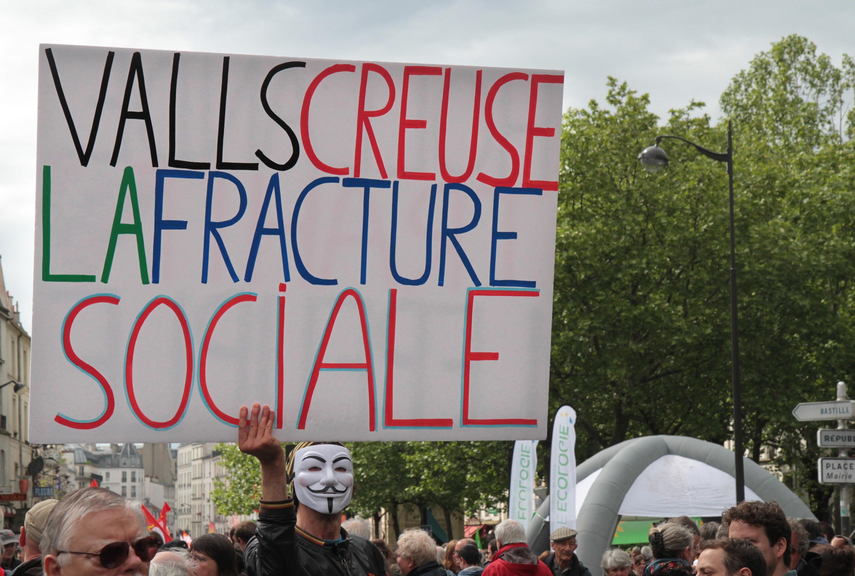 fracture sociale