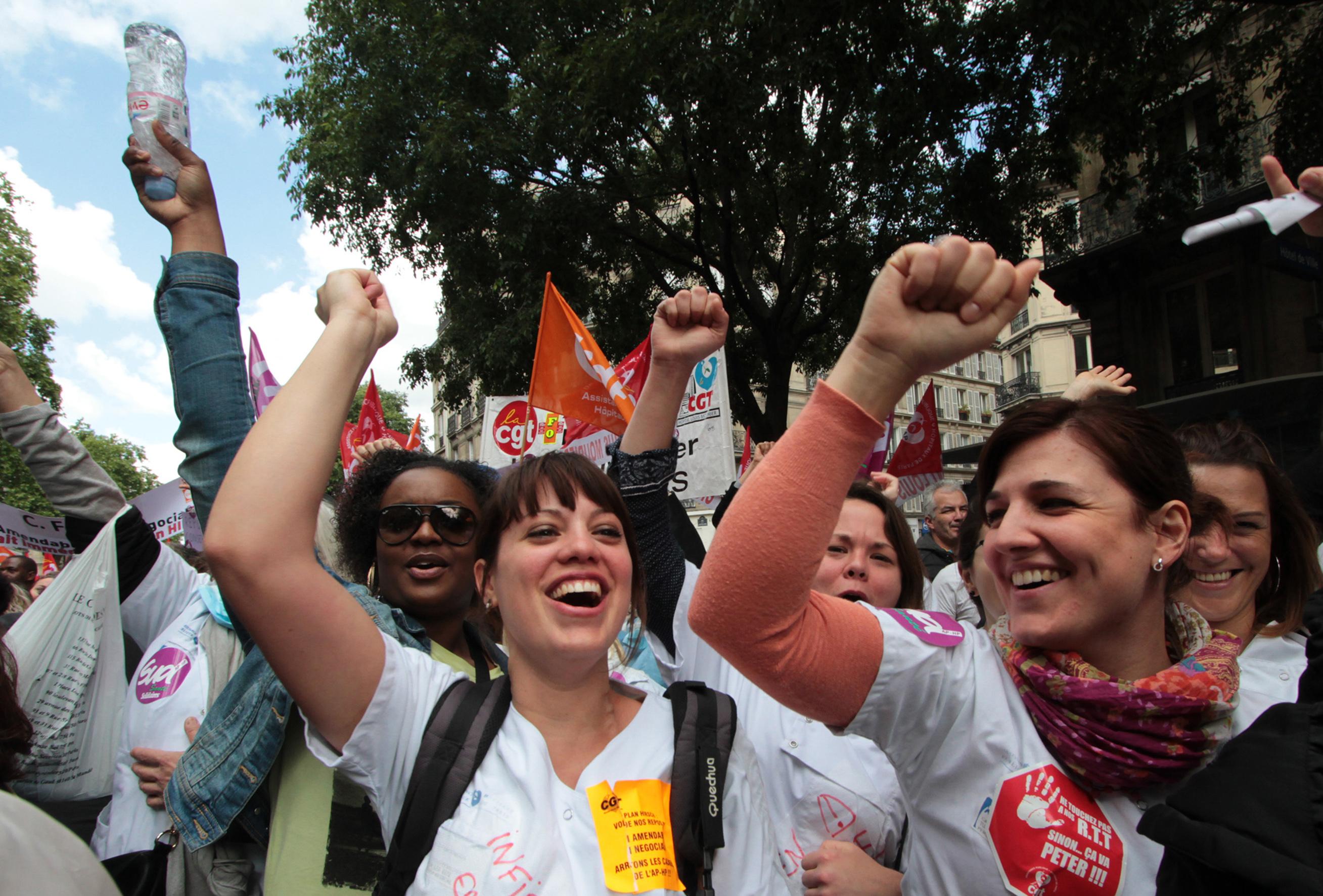 Modalités de la grève dans le secteur privé