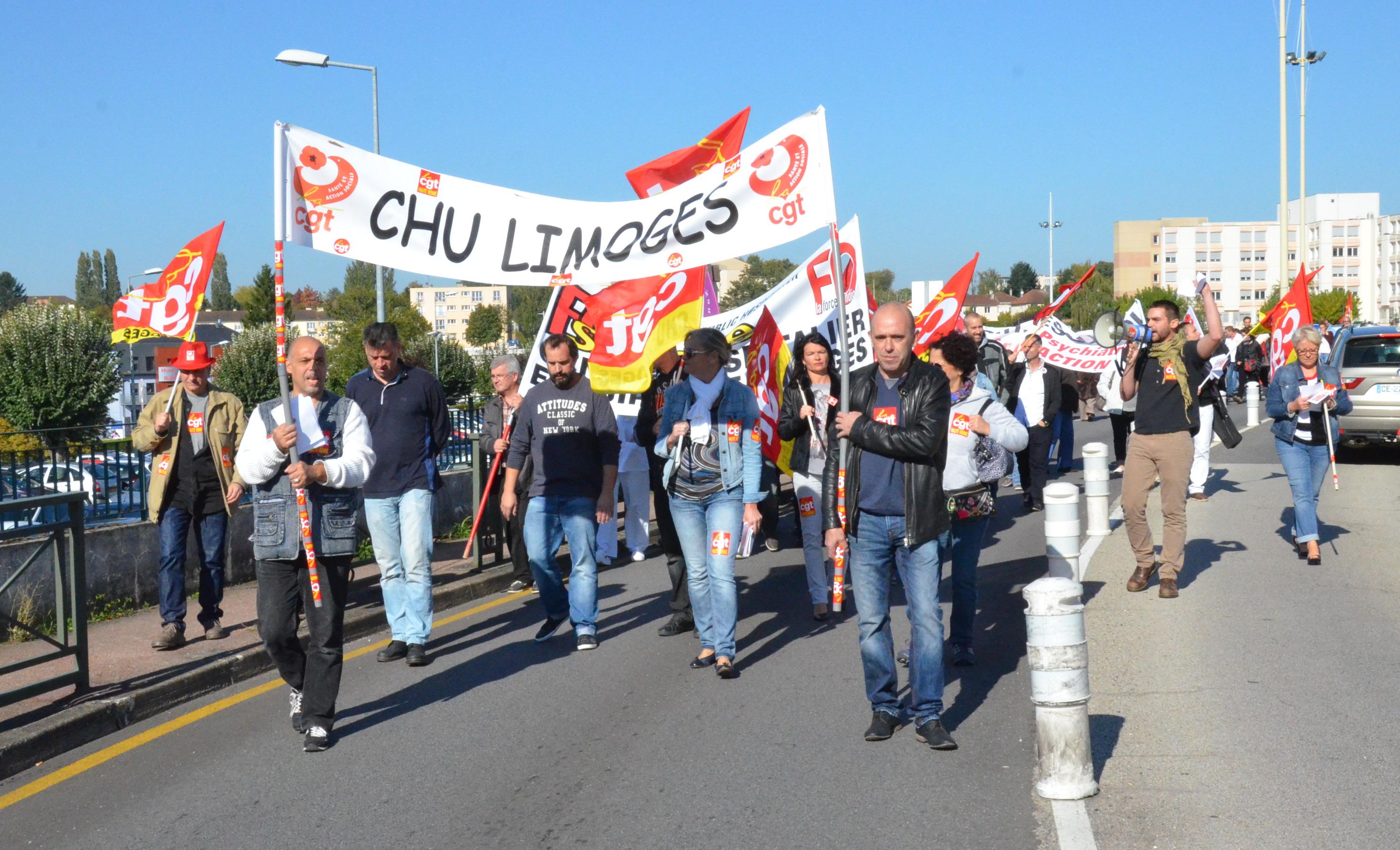 grève chu limoges